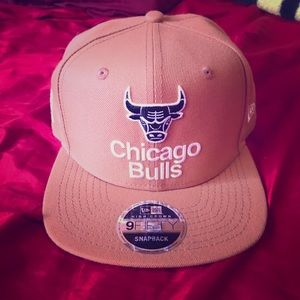 Wheat Chicago bulls adjustable snapback